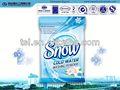 El agua fría de flores frescas oem/odm polvo detergente de lavandería no bio de lavado en polvo d2