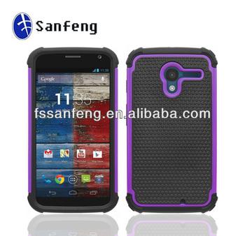 Made In Guangzhou Hard Back Case For Motorola X Phone