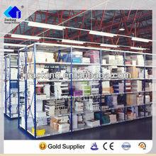 Jracking galvanized Q235 warehouse steel selective drinking glass storage rack