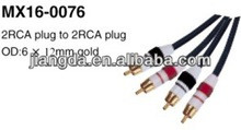 High quality Audio RCA plug RCA cable vga rca