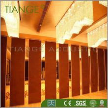 Material a prueba de cubículo / de la puerta de madera partición bordo