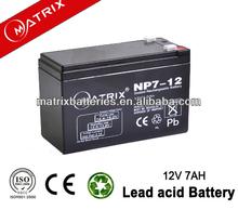 2014 Storage Battery 12 Volt 7 Amper Hours