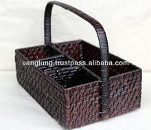 new model wine rattan holder/ wicker/bamboo wine holder