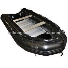 aluminum floor inflatable boat 4.3m