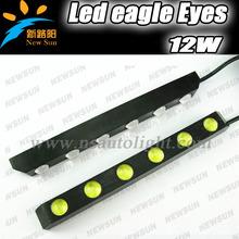 2pcs * 6 leds White High Power 6W LED Eagle Eye Car Side/Back Up Reverse Tail Light Lamp