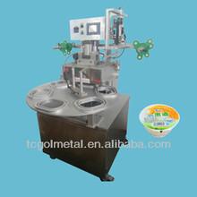 fast food tray/box sealing machine tray sealer CCP-FK1000