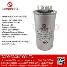 Heating Ventilation Air Conditioning Capacitors 450 vac volts 20+5 uf mfd