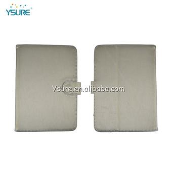 Simple fashion standing pu leather case for ipadmini 2