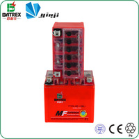 loncin motorcycle parts motorcycle starting battery 12v 4Ah cj750