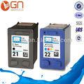 nuevos productos de la impresora cartucho de tinta compatible para hp 21 22