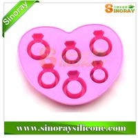Diamond Shape Silicone Ice Tray