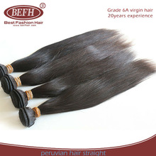 Superior Quality Exclusive Import 1B Natural Color 100% Virgin Human peruvian Cheap Straight Hair Weave
