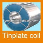 Tinplate Steel Coil/Sheet With Gold/White Lacquered