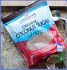 High grade plastic waterproof pouches with clear window for coconut sugar