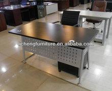 2014 Hot Sale Dark Color Office Table Desk