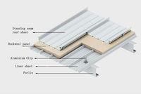 aluminium standing seam metal roofing sheet zinc aluminium roofing sheets