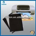 2014 venda quente impermeável matte papel adesivo imã de geladeira