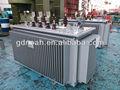 s11 de alta calidad de step up voltaje utilizado inmerso en aceite de transformador de distribución elé