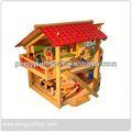 Casa de madera de ventas directas con en-71