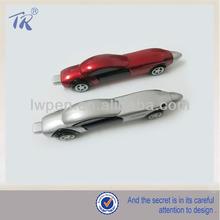 Promotional Moveable Race Car Plastic Pens
