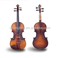 Spray flame violins with close violin images (LCMVM012W)