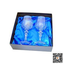 black gift boxes for wine glasses