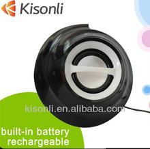 Mini big sound small usb single amplified speakers