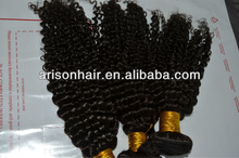 Grade AAAA kinky curly remy hair weave brazilian/indian/peruvian/malaysian/cambodian hair