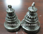 engraved small bronze bells metal