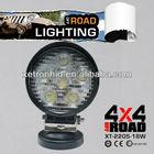 LED Car work light 18W 12V 6LED White Extra Car Headlight For Vehicle Truck Heavy Duty