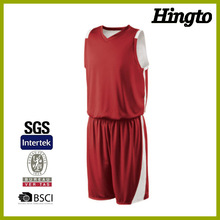 Wholesale blank latest basketball jersey design