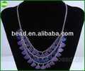 2014 de moda de la joyería, Collar de cuero, Collar tibetano collar de plata