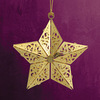 metal star ornament brass ornaments