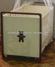 convertible cot, baby crib , fashion design cot