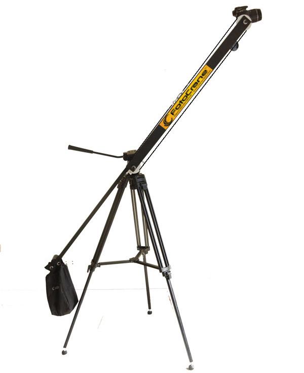 Jib Crane Gopro : Foot telescopic portable camera jib crane for dslr