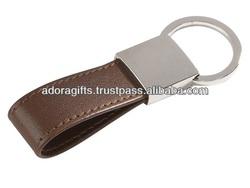 ADAKC - 0042 top fashion key chain supplier / popular design metal key ring holder / 2014 leather car key case