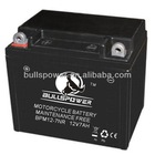 rechargeable battery motorcycle, ytx7a-bs 12v 7ah motorcycle battery