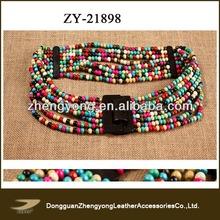 beaded waist belt,indian beaded belt