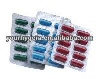 OEM capsule/pills/tablet your private label original OEM red white capsule pill