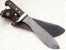 Damascus Steel Puma Knife