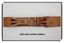 snap on leather belt straps narrow waist belt leather elastic stretch belt