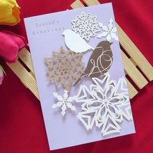 2014 new design handmade cheap season greeting card
