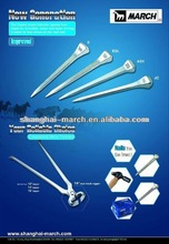 Shanghai March Factory tool sets Horseshoes nails Horseshoe Horse equipment Horse Shoe Nail E2-E8