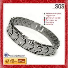 2013 magnetic bracelets as seen on tv negative ion titanium germanium bracelet