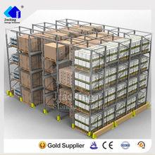 Nanjing Jracking brand Q235 metal stack gravity roller pallet rack