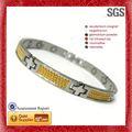pulseiras magnéticas ou colar magnética titanium pulseira de saúde benefícios