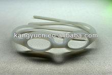 Silicone goggles strap