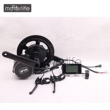 MOTORLIF 36/48V 250w~750w mid drive motor e bike kit