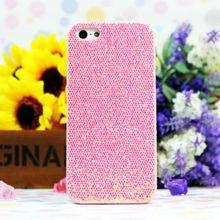 Rhinestone Diamond Flash Glitter Powder Hard Mobile Phone case For Iphone 5 5G accessories