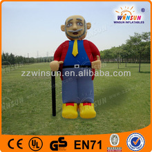 Top design high quality custom inflatable people character for promotion